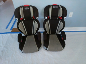 2 Graco high back booster seats