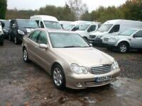 2004 Mercedes-Benz C-CLASS C220 CDI Elegance SE 2.1TD Auto Saloon Diesel Automat