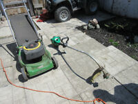FREE PICKUPS OF YOUR OLD LAWN MOWERS
