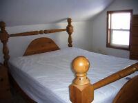 Solid Pine Bedroom Set - $800 for set