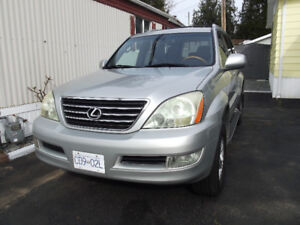 2005 LEXUS SUV GX 470 NAVIGATION and SPORTS PACKAGE 13,900