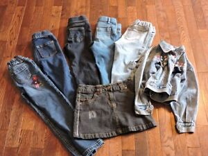 Girls size 4 and 5 Denim
