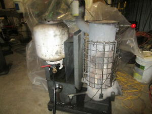 used oil shop heater