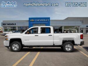 2018 Chevrolet Silverado 2500HD Work Truck  -  Power Windows