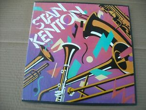 Stan Kenton 3 LP Box Set from Book of the month Club 1985!