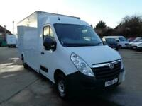 VAUXHALL MOVANO 2.3 CDTI (125) | L3H2 | LO-LOADER | 1 OWNER | 2016 MODEL
