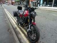 Brand New Benelli Leoncino Trail fitted with full luggage kit.