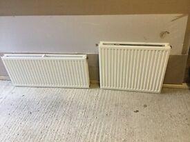 3 secondhand radiators