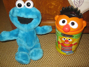 Cookie Monster that shakes or laughs and knex Ernie St. John's Newfoundland image 1