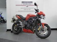 59 REG TRIUMPH STREET TRIPLE R STUNNING COLOUR GREAT ORIGINAL CONDITION
