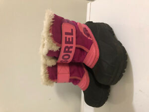 Toddler winter snow boots size 6