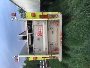 Frieghtliner Fire Pumper Truck