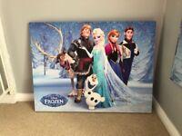 Disney Frozen Canvas Picture