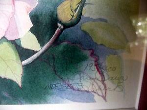 "L/Edition, Hand Signed Mary-Dawn Roberts, ""Gardener's Treasure"" Stratford Kitchener Area image 4"