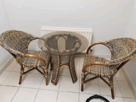 57. Indoor or outdoor table and chairs