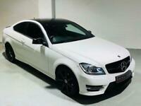 MERCEDES-BENZ C-CLASS C220 CDI AMG SPORT EDITION PREMIUM AUTO 2014 COUPE WHITE