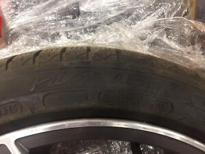 Mercedes AMG rims and winter tires.  Regina Regina Area image 2