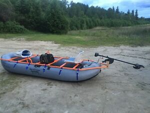 12' Dave Scadden Dragon Fly XTC inflatable boat for sale
