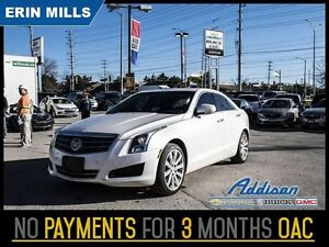 2014 Cadillac ATS 2.0 Turbo Luxury   AWD NAVI LEATHER LOADED
