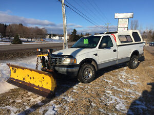 2002 Ford F-150 Pickup PLow Truck