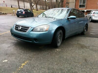2002 Nissan 2.5S Altima 4 Cylindres ** 2400$ Nego **