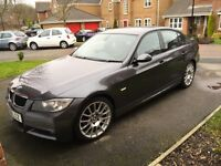 BMW 3 Series 2.0 318i M Sport Edition 4dr Grey Sat Nav, Low Mileage, Leather **REDUCED**