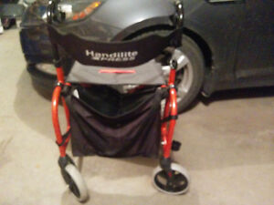 Handylite Express 4 wheel walker