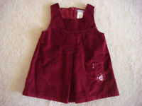GIRL 6-12MTS - DRESSES, T-SHIRTS, TANK, 2pc OUTFIT - $8LOT