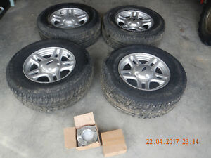 "Roues 16"" pour Ford Explorer + spacer"