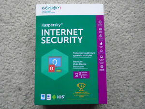 Kaspersky Internet Security SEALED 3 Users 1 YEAR...ONLY $28 !!!