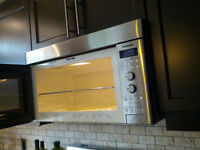 99.9%new Panasonic Over-the-Range Microwave (stainless steel)