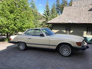 PRICED TO SELL 1985  MERCEDES 380 SL CONVERTABLE