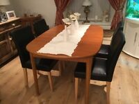Dining Chairs And Table In Neath Port Talbot