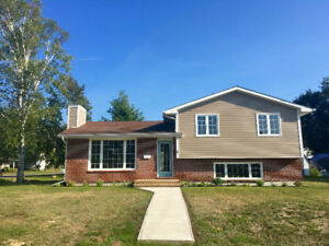 Completely renovated- move in ready