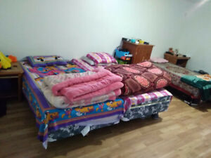 Large room for rent for 2 female students close to the college