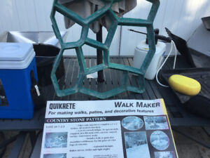Quikrete Walkway mould