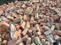 Hardcore or reclaim bricks
