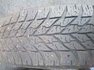 For Sale: Two 225 65R 17 Studded Goodyear Ultragrip Winter Tires St. John's Newfoundland image 3