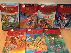 Geronimo Stilton Kingdom of Fantasy Books 1-7 & Thea Stilton...