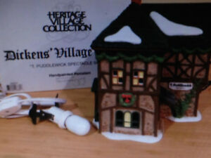 DEPT 56 DICKENS - T.  PUDDLEWICK SPECTACLE SHOP #58331 - H29