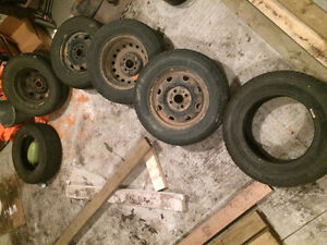 """13"""" winter tires and rims"""
