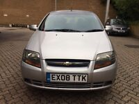 Chevrolet kalos 1.2 petrol great condition in and out drives like new one year mot