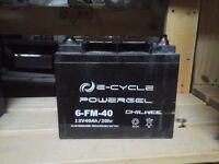 4 Batterie 12 V au plomb à décharge profonde