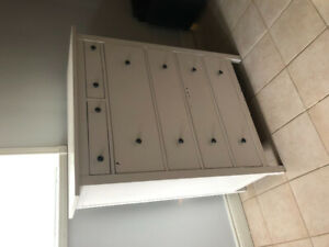 2 HEMNES 6-drawer wood chests for sale