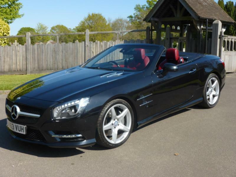 MERCEDES-BENZ SL350 AMG SPORT 7G AUTO, ONE OWNER, 33,000 MILES ONLY