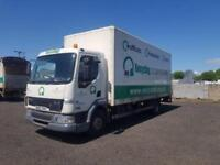 2002 02 PLATE DAF 45.150 20 FEET BOX LORRY WITH TAIL LIFT