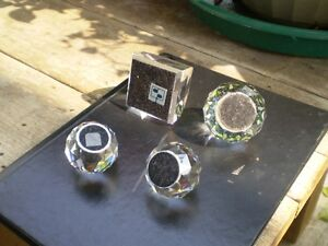 Swarovski Crystal Colored Paper Weights Kitchener / Waterloo Kitchener Area image 4