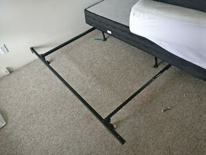 King Size Bed with Box and Frame