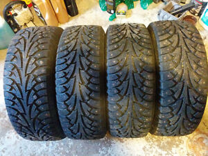 4 Hankook I-Pike Studded Winter Tires 94T