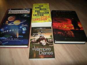 Multiple used books for sale (see detail list)